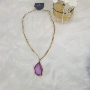 Express | Genuine Agate Necklace  NWT